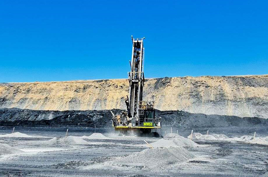BHP BMA Saraji CAT Mining Services Drill